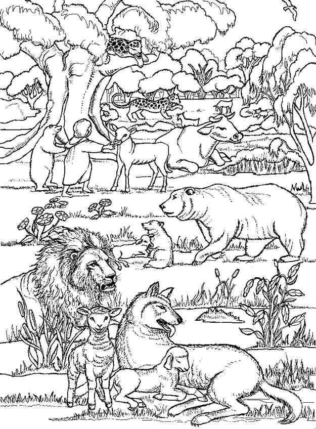 Bible Stories Coloring Book Dover Classic Stories