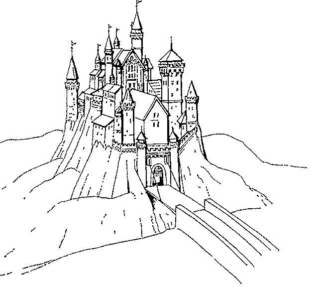 Gratis kleurplaat kasteel 11