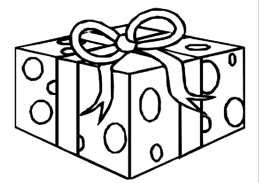 Gratis kleurplaat cadeautje