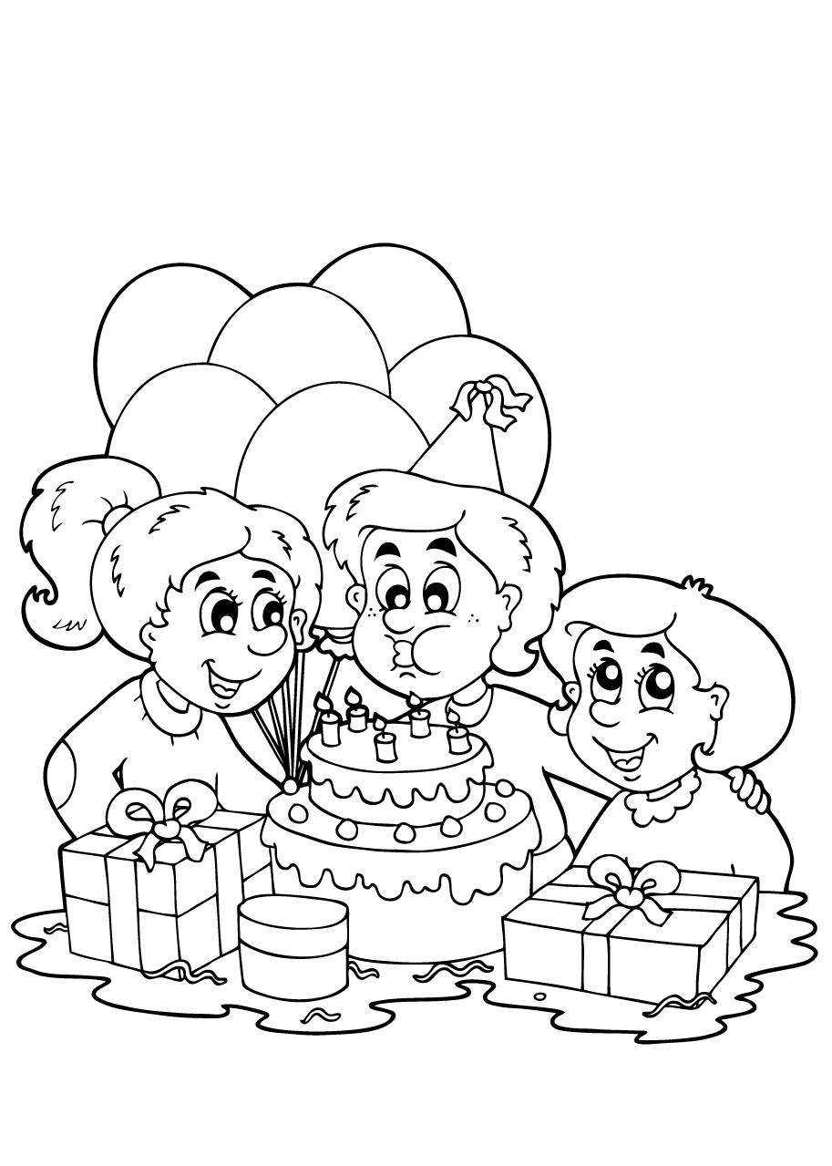 Bumba Verjaardag Kleurplaat Kleuren Nu Verjaardagstaart Met Kaarsjes Kleurplaten