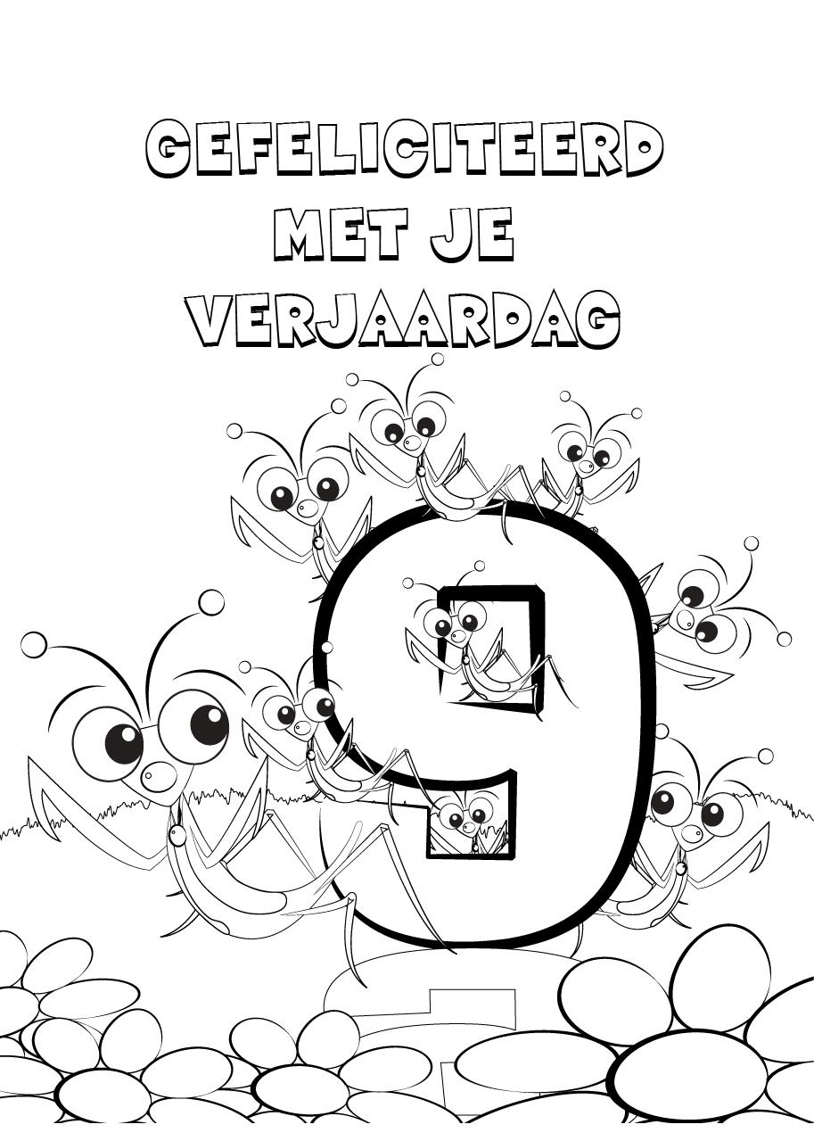 Kleurplaat 50 Jaar Abraham Kleurplaten Verjaardag 9 Jaar Brekelmansadviesgroep