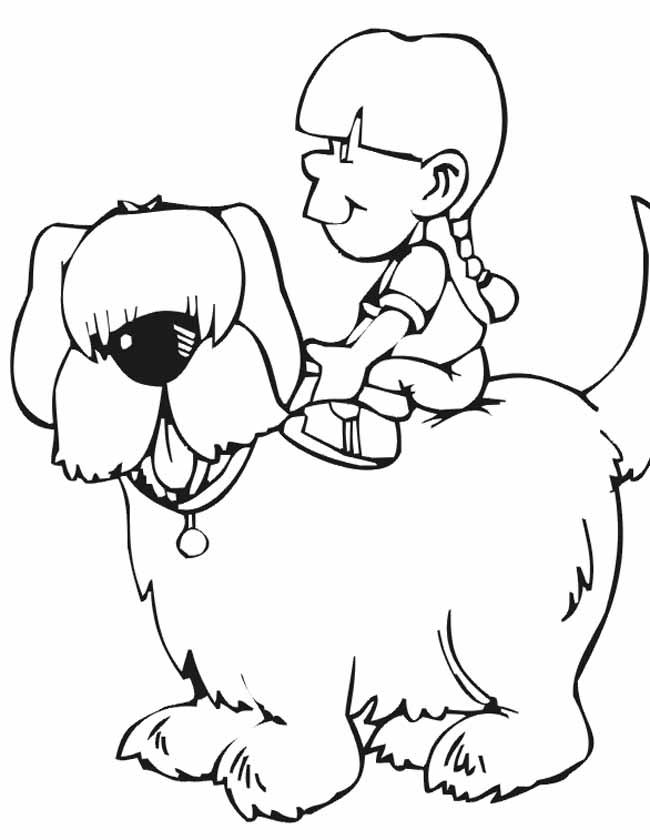 Kleurplaat Van Een Hond Idee 235 N Over Kleurpagina S Voor