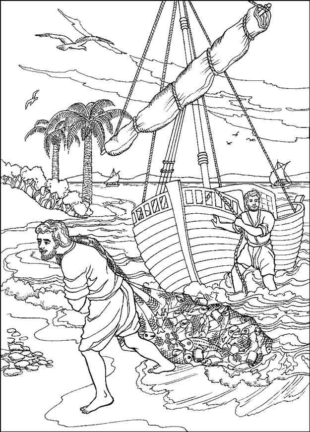 Kleurplaat Bumba Sinterklaas Kleuren Nu Wonderbaarlijke Visvangst Kleurplaten