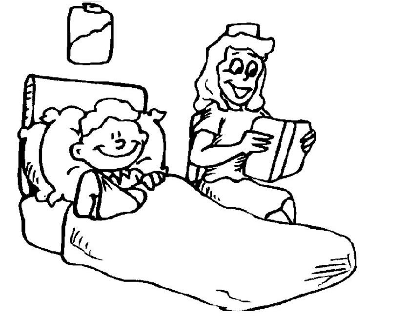Kleurplaten Dokters.Kleuren Nu Zuster Leest Een Verhaal Kleurplaten