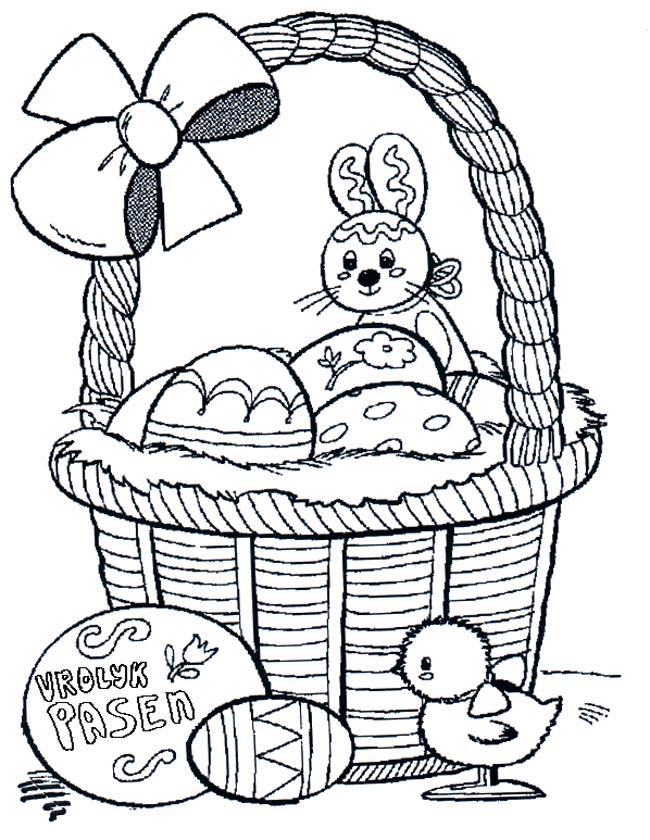 Kleurplaten Pasen Eieren.Kleuren Nu Vrolijk Pasen Kleurplaten