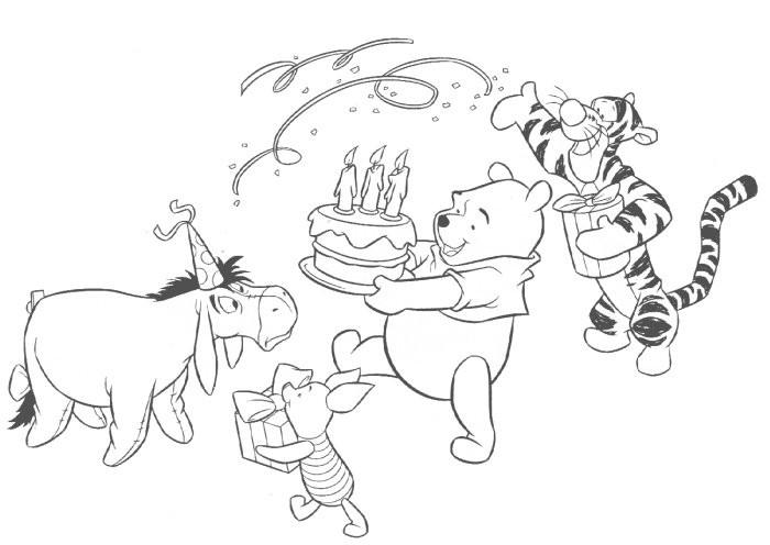 Winnie The Pooh Sinterklaas Kleurplaat Kleuren Nu Verjaardag Van Winnie The Poeh Kleurplaten
