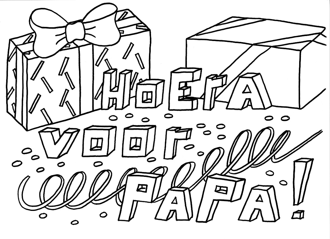 kleurplaat papa 40 jaar Kleurplaten Verjaardag Papa @KX24 – Aboriginaltourismontario kleurplaat papa 40 jaar