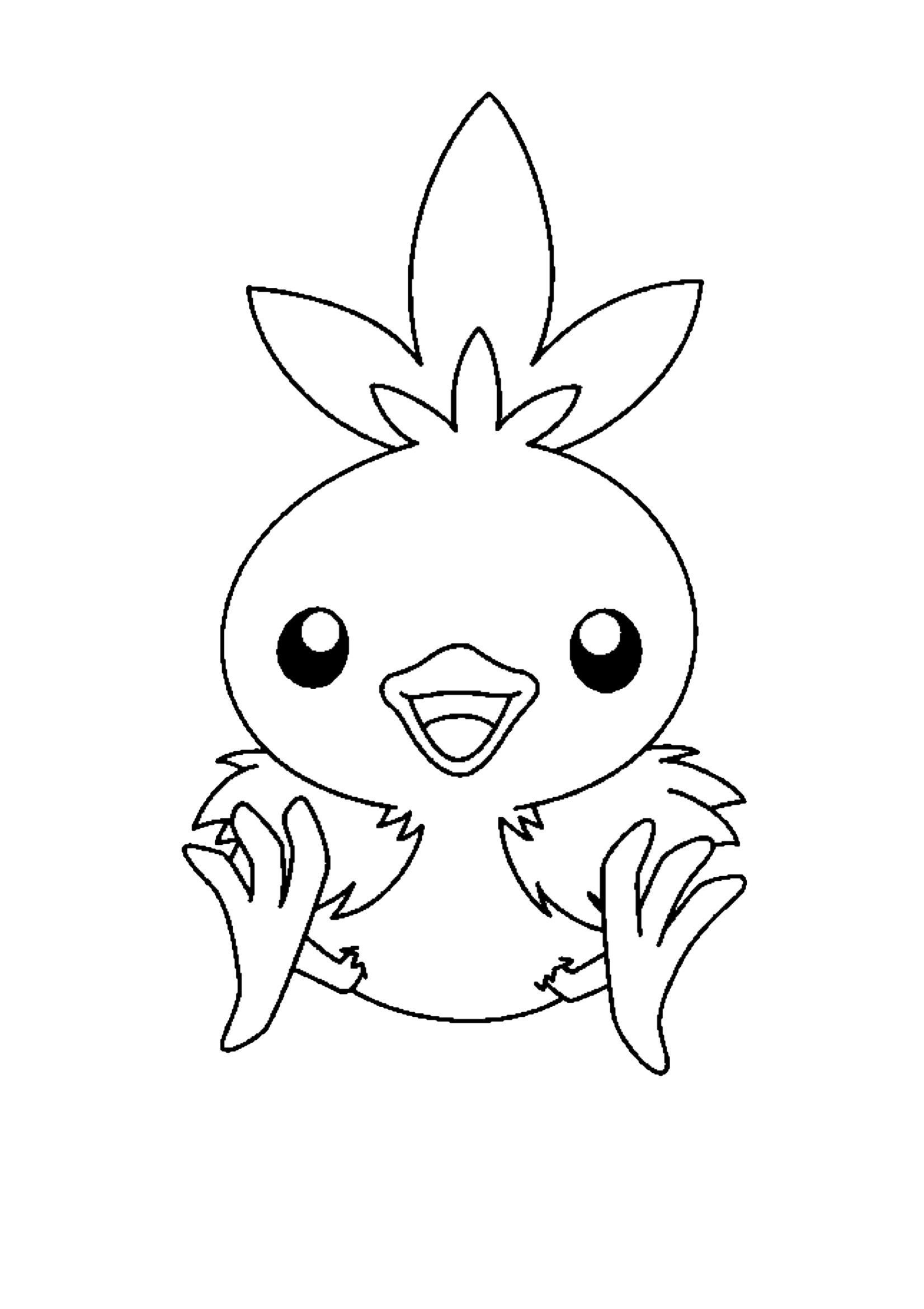 Gratis kleurplaat Pokemon
